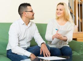 questionário de preenchimento familiar para empregado foto