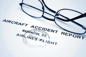relatório de acidente de aeronave