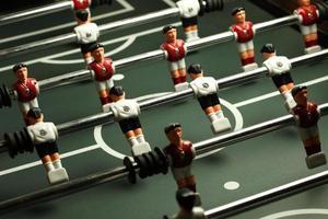 jogo de mesa de futebol foto