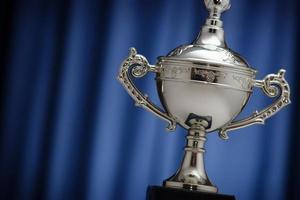 Taça de prata do vencedor foto