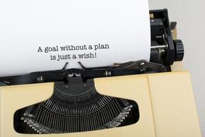 frase motivacional de negócios foto