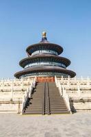 o templo do céu em pequim, patrimônio cultural mundial foto