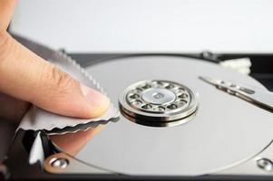 limpeza do disco rígido foto