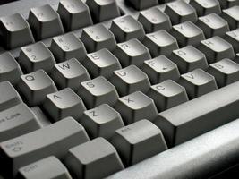 teclado QWERTY foto