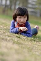 mimi menina asiática foto