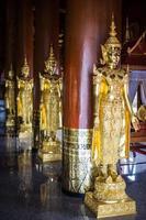 estátua de anjo da arte asiática, tailândia