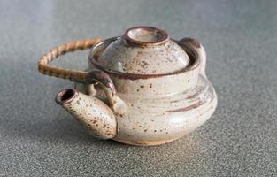 bule de chá do japão foto