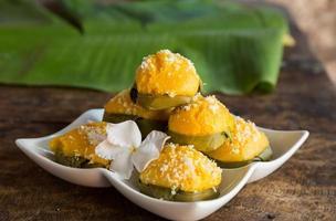 sobremesa tailandesa de palmyra
