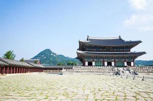 palácio gyeongbokgung foto