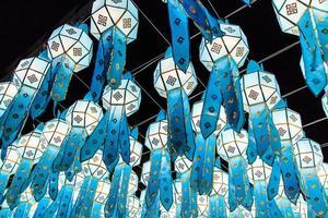 lanna lanterna tailândia foto
