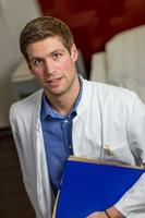 médico caucasiano foto