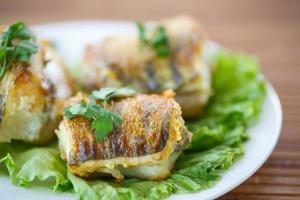 walleye frito foto