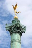 monumento de paris foto