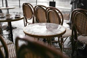 mesa de café foto