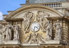 relógio de jardim luxemburgo foto