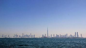 skyline de dubai foto