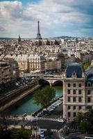 paisagem urbana de paris foto