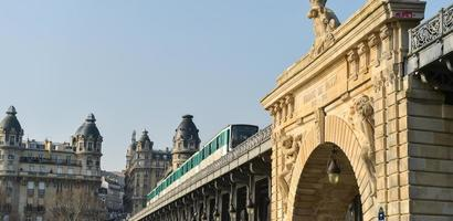 vida urbana-metrô de paris foto