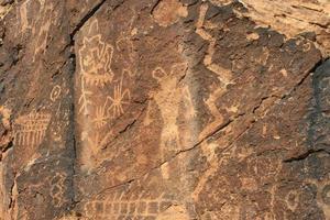 petroglifos do fosso parowan foto