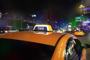 carro de táxi foto
