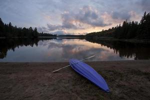 algonquin parque muskoka ontário lago ermo