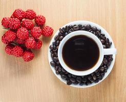 grão de café foto