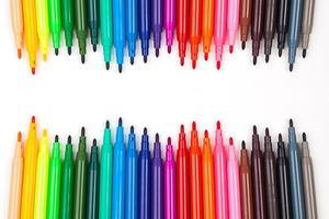 caneta colorida