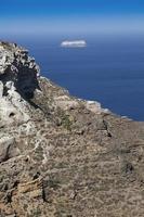 thira fira perissa oia ammoudi thirassia ilha grécia cyclades foto