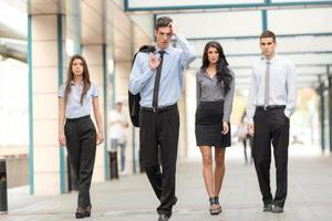 equipe de negócios de sucesso foto