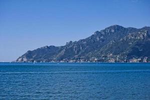 península da costa de amalfi foto
