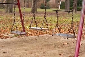 playground e balanços