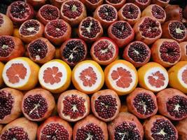 frutas coloridas foto