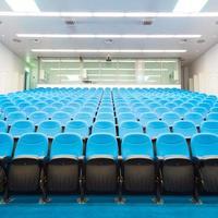 sala de conferências vazia.