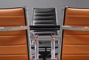 cadeiras de negócios foto