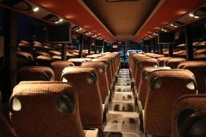 ônibus de festa foto
