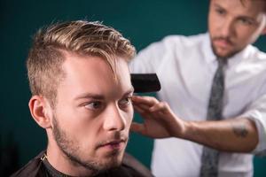 salão de cabeleireiro profissional foto