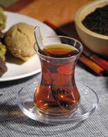 chá turco foto