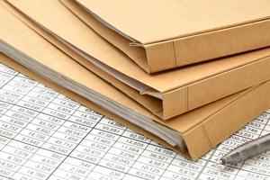 materiais de negócios foto