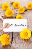 tag com gutschein foto