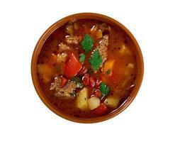 eintopf - prato tradicional da culinária alemã. foto