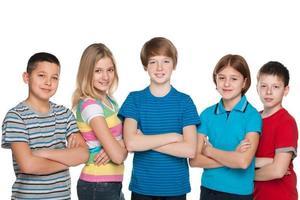 crianças sorridentes foto