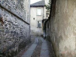 rua de pedra foto