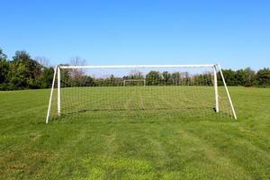 gol no futebol foto