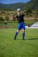 jogador de futebol foto