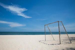 Futebol de areia foto