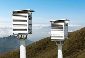 a estação meteorológica foto