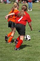 meninas no campo de futebol 37 foto