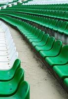assentos do estádio foto