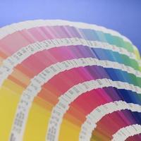 livro de cores foto