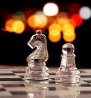 peça de xadrez foto